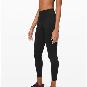 "Lululemon fast and free 25"" reflective Nulux"